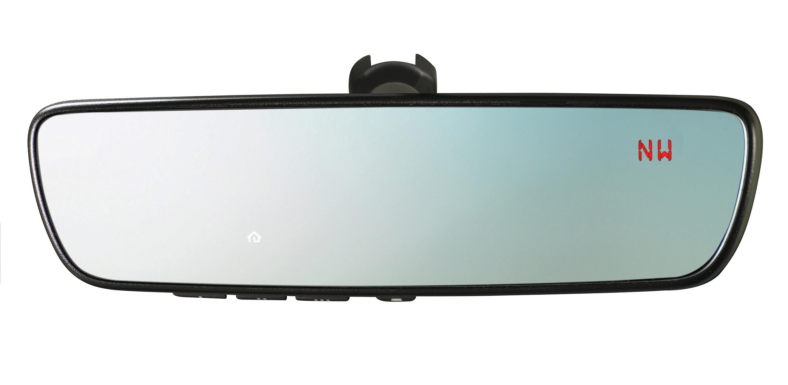 subaru homelink mirror programming